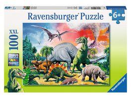 Ravensburger Puzzle Unter Dinosauriern 100 XXL Teile