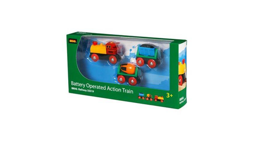 BRIO Bahn Zug mit Batterielok