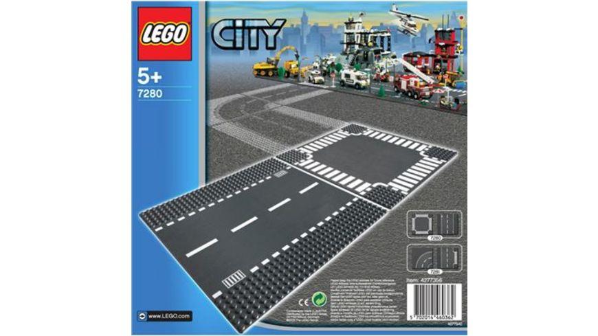 LEGO City 7280 Gerade Strasse Kreuzung
