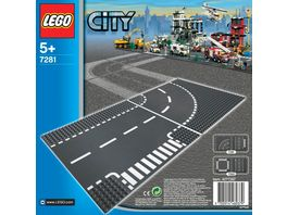 LEGO City 7281 Kurve T Kreuzung
