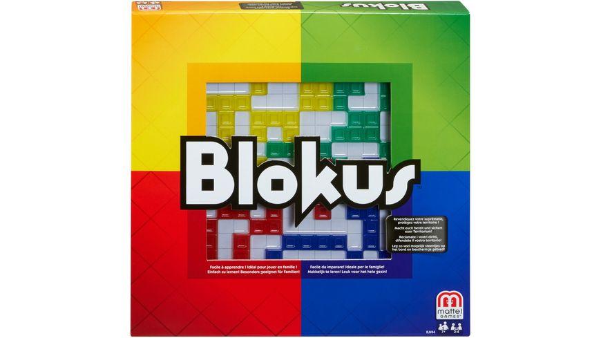 Mattel Games Blokus, Gesellschaftsspiel, Strategiespiel, Kinderspiel
