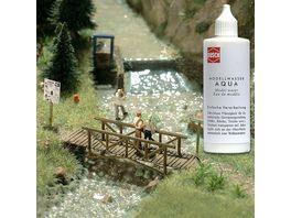 Busch Modellbahnzubehoer Aqua Modellwasser