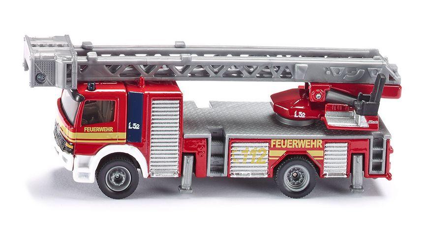 SIKU Super Feuerwehrdrehleiter