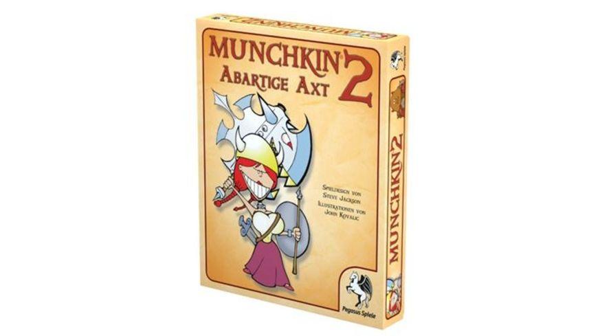 Pegasus Funspiele Munchkin 2 Abartige Axt