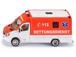 SIKU 2108 Super Rettungswagen