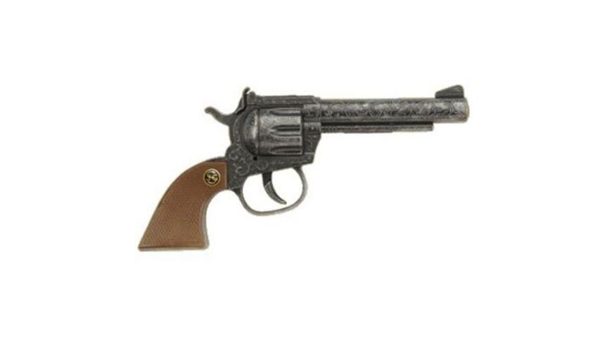 J G Schroedel Sheriff antik 100 Schuss Pistole