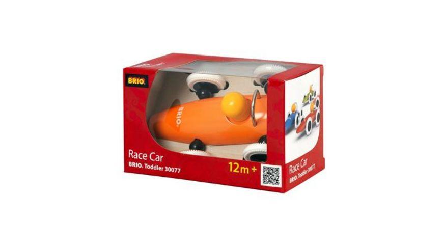 BRIO Toddler Rennwagen farbig sortiert