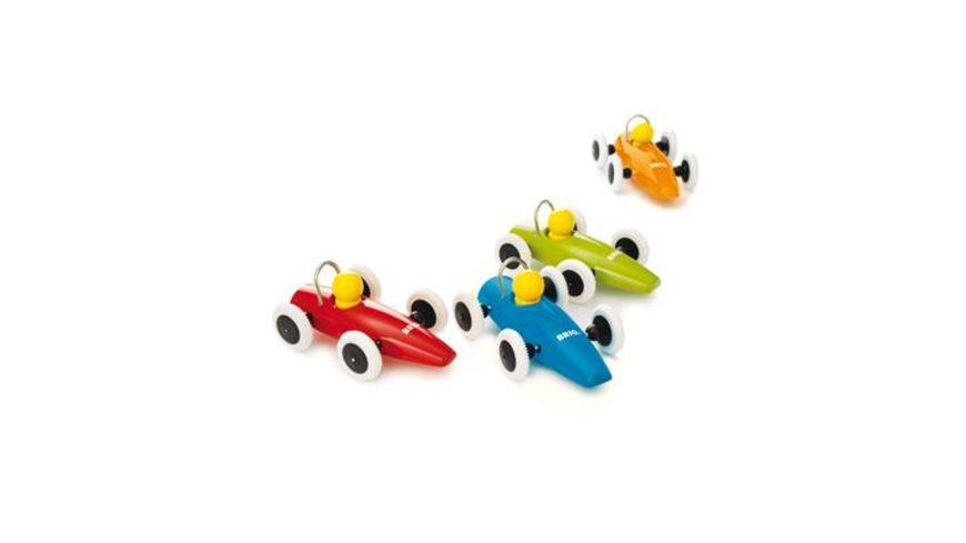 BRIO Toddler Push Alongs Rennwagen 1 Stueck sortiert