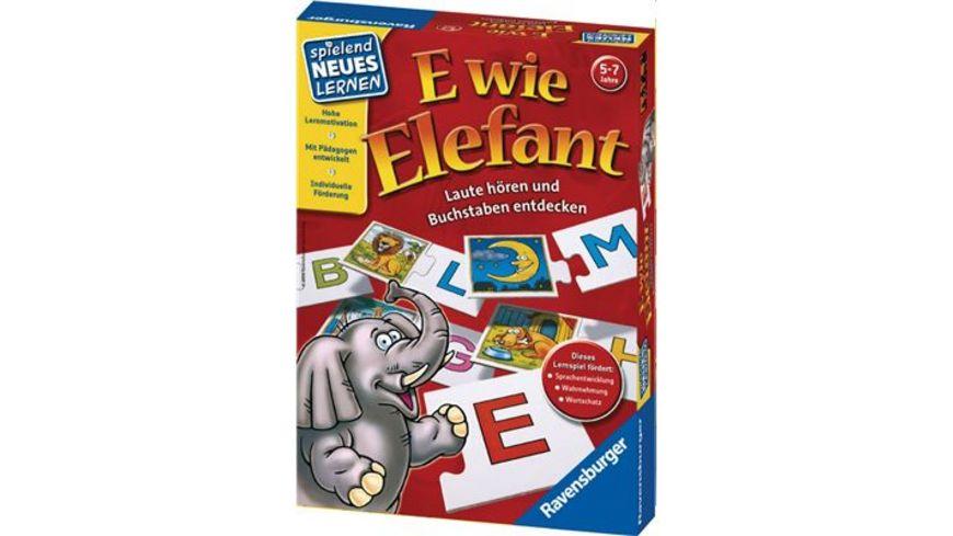 Ravensburger Spiel E wie Elefant