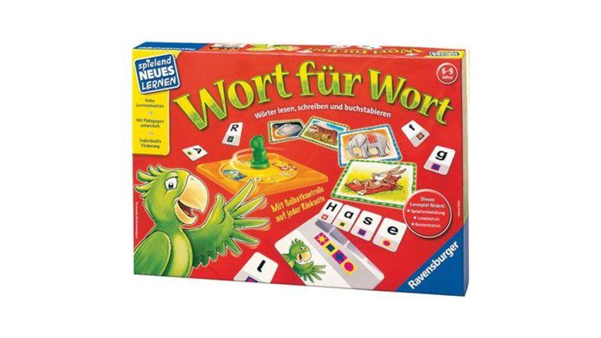 Ravensburger Spiel Wort fuer Wort