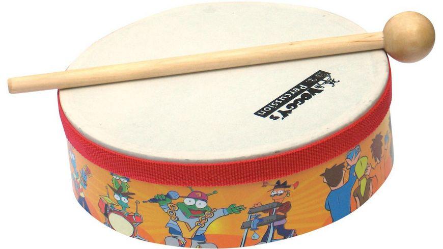 Voggy s Kinder Percussion Set im Karton Musikalische Frueherziehung fuer Kinder ab 3 4 Jahren