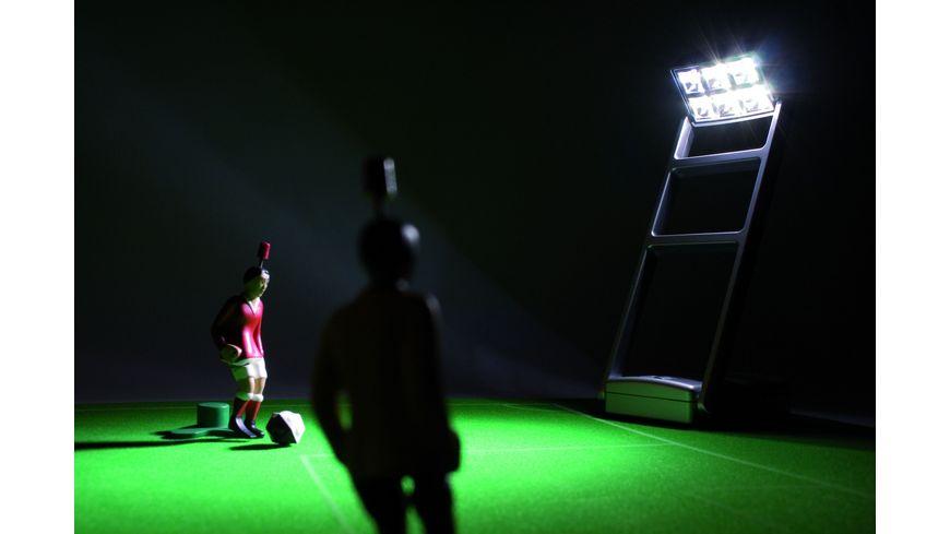 Tipp Kick Flutlichtanlage mit 4 Masten
