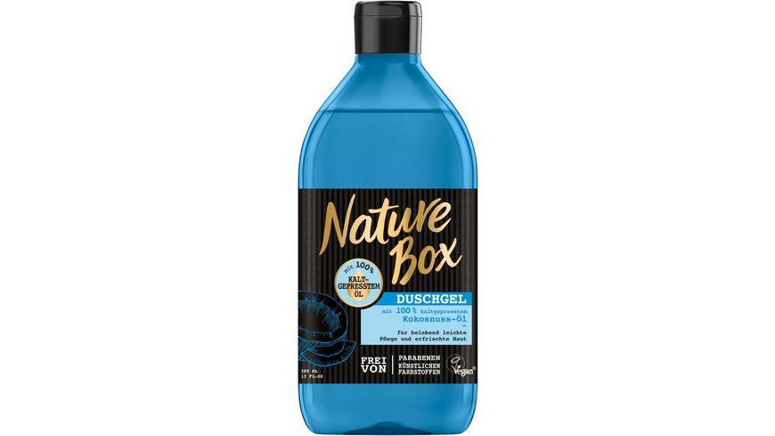 Nature Box Duschgel Kokosnuss Oel