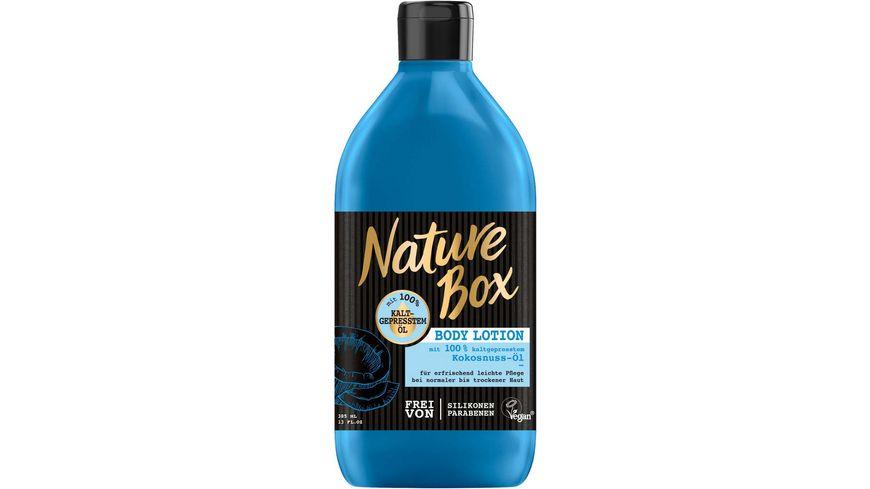 Nature Box Body Lotion Kokosnuss Oel