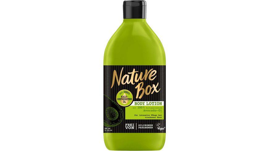 Nature Box Body Lotion Avocado Oel