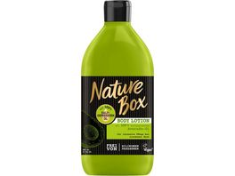 Nature Box Body Lotion Avocado Oel