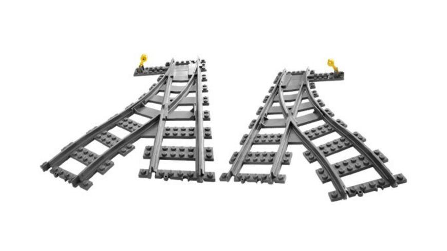 LEGO City 7895 Weichen