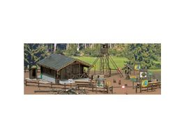 Busch Modellbahnzubehoer Wald Set