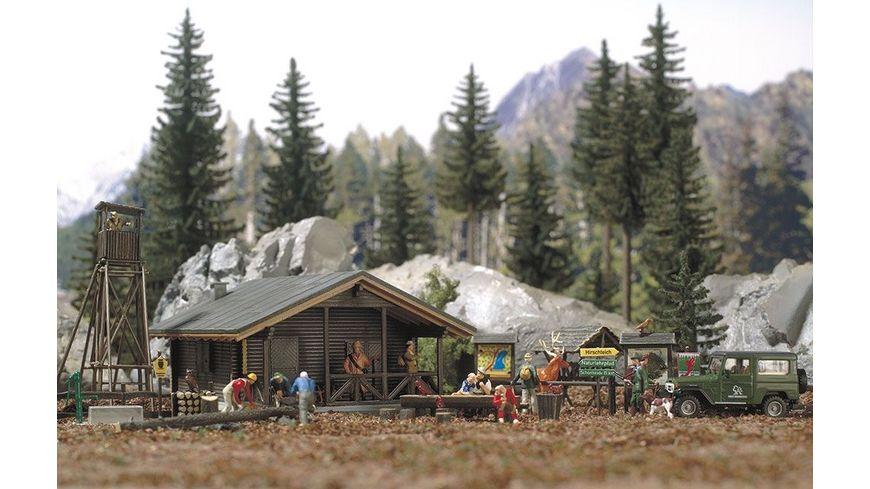 Busch 6042 Modellbahnzubehoer Wald Set