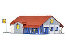 Vollmer 43662 H0 Lidl Markt