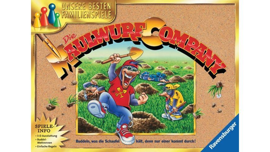 Ravensburger Spiel - Die Maulwurf Company