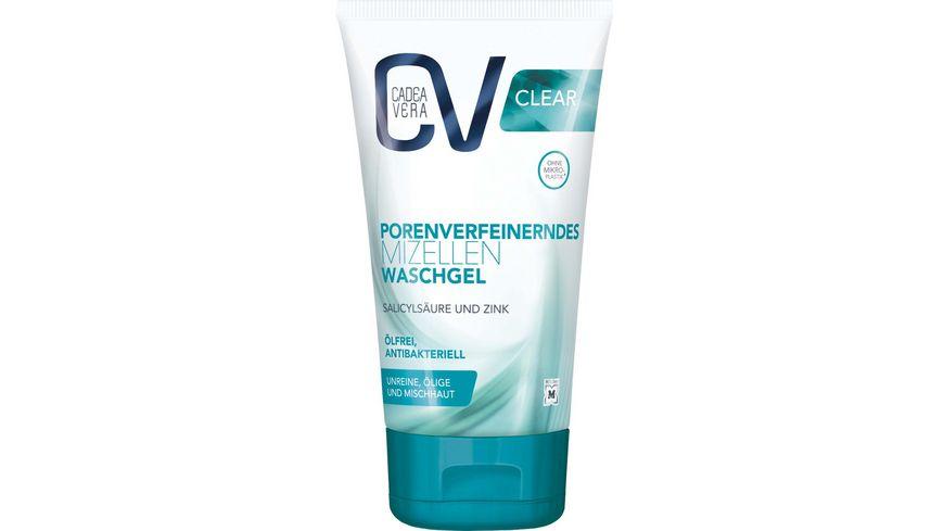 CV CLEAR porenverfeinerndes Mizellen Waschgel