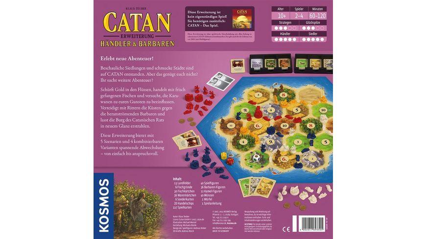 KOSMOS Catan Erweiterung Haendler und Barbaren 2 4 Spieler