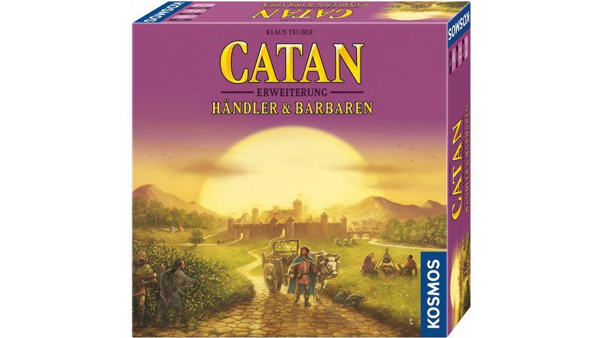 KOSMOS Catan Haendler und Barbaren 2 4 Spieler