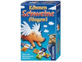 KOSMOS Koennen Schweine fliegen Mitbringspiel