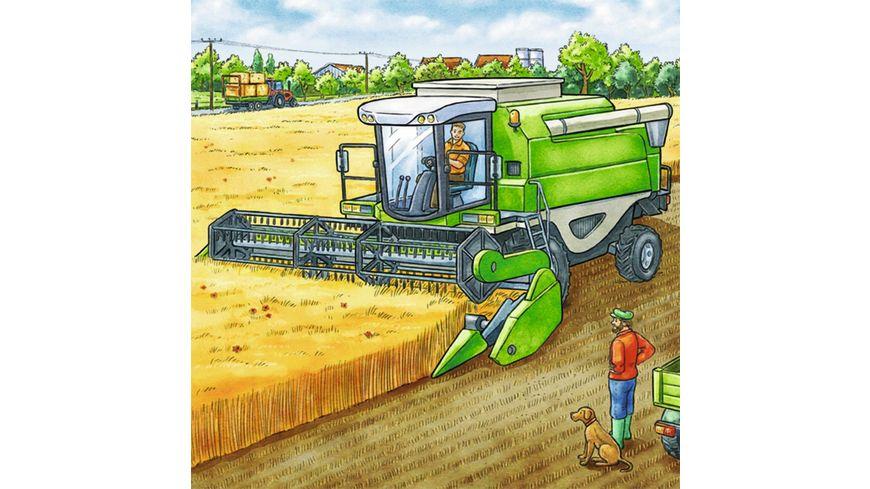 Ravensburger Puzzle Grosse Landmaschinen 3x49 Teile