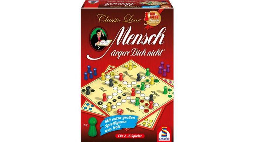 Schmidt Spiele Familienspiele Classic Line Mensch aergere Dich nicht