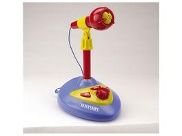 Bontempi Stand Mikrofon mit Lautsprecher