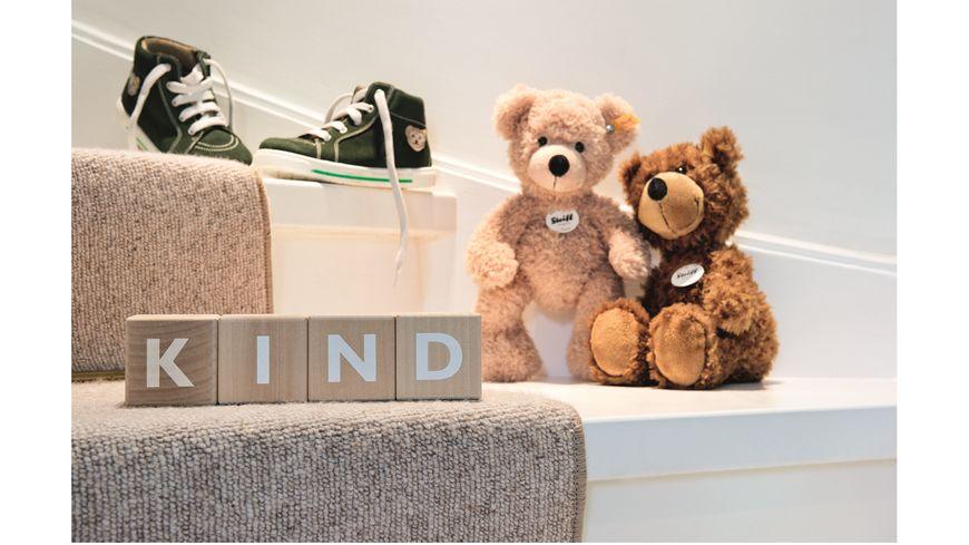 Steiff Teddybaeren Teddybaeren fuer Kinder Fynn Teddybaer beige 28cm