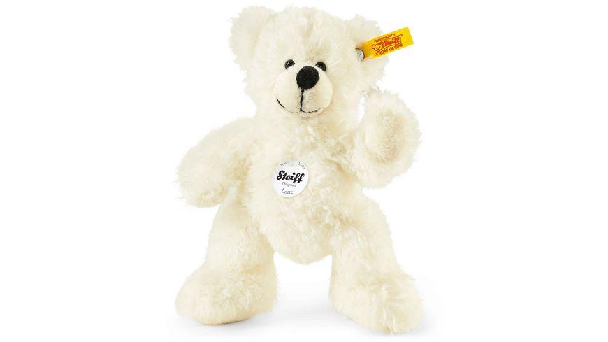 Steiff Kuschelige Teddybaeren Lotte Teddybaer 18 cm weiss