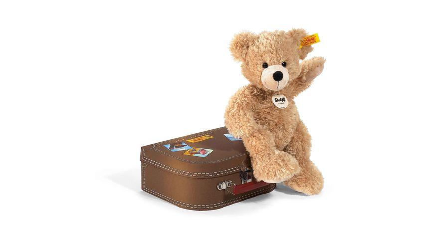 Steiff Kuschelige Teddybaeren FYNN Teddybaer im Koffer