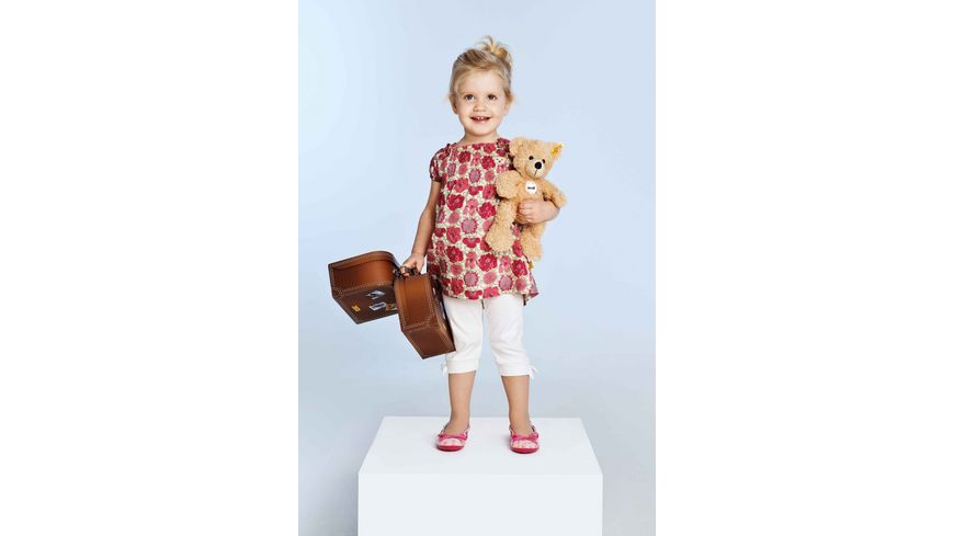 Steiff Teddybaeren Teddybaeren fuer Kinder Fynn Teddybaer im Koffer beige 28cm