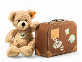 Steiff Fynn Teddybaer im Koffer beige 28cm