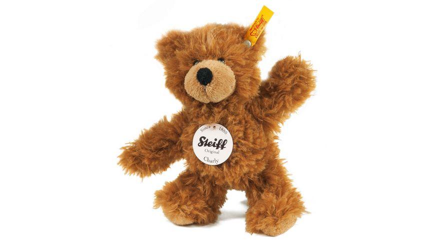 Steiff Kuschelige Teddybaeren Charly Schlenker Teddybaer 16 cm braun