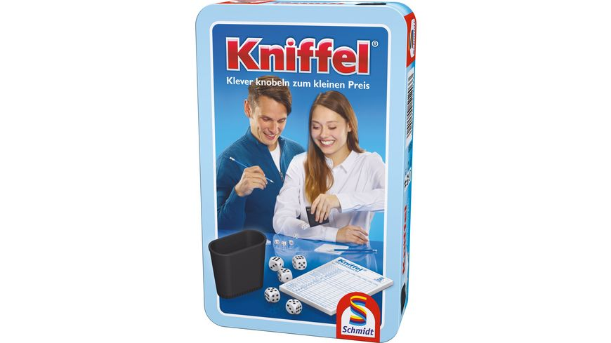 Schmidt Spiele Kniffel in Metalldose