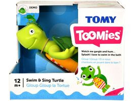 Tomy Aqua Fun Plantschi die singende Schildkroete