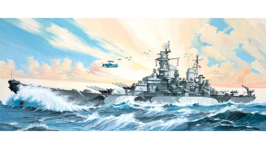 Revell 05092 Schlachtschiff USS MISSOURI