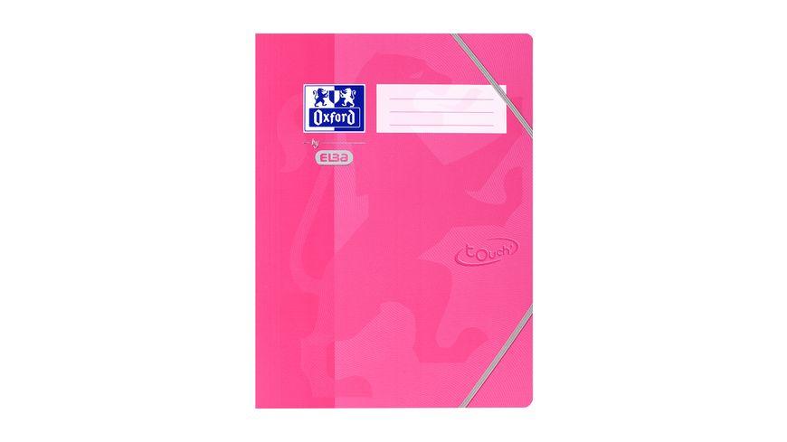 Oxford Eckspannermappe A4 rosa