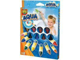 SES Creative Aqua Malen in der Badewanne 8 Farben