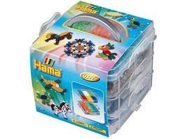 Hama Aufbewahrungsbox inkl 6000 Buegelperlen Zubehoer