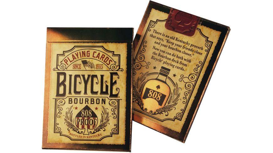 Bicycle Poker Kartendeck Bourbon
