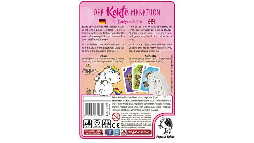 Pegasus Pummeleinhorn Der Kekfe Marathon