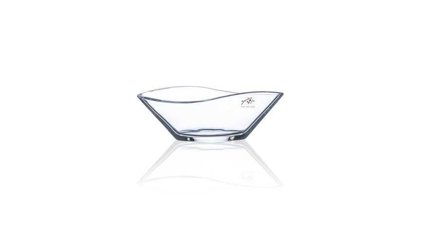 Sandra Rich Glas Schale Elegance Leaf 6 5 cm