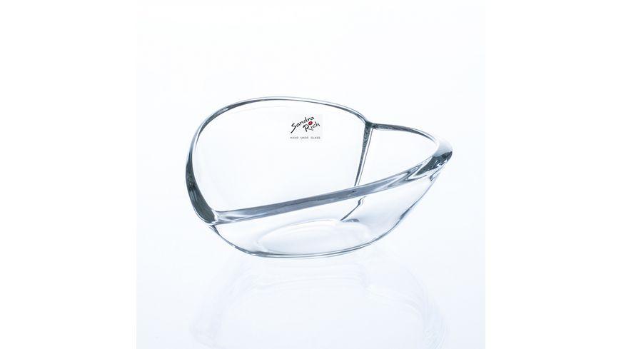 Sandra Rich Glas Herz Schale Heart 6 5 cm