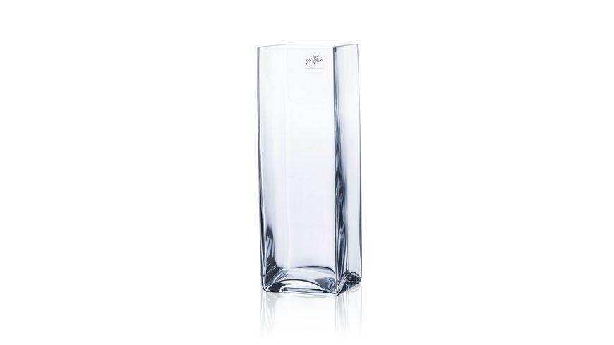 Sandra Rich Glas Vase Square quadratisch 20 cm
