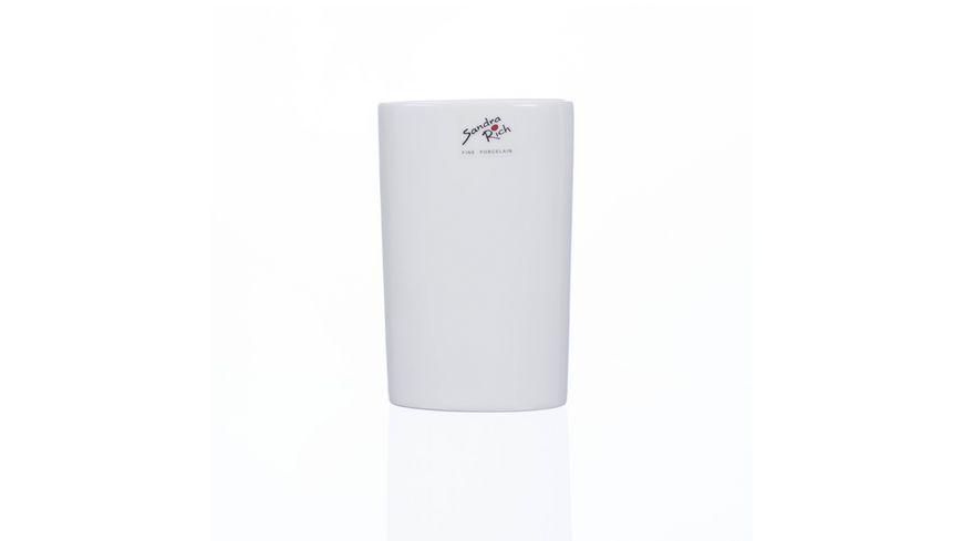 Sandra Rich Porzellan Vase Oval 14 cm